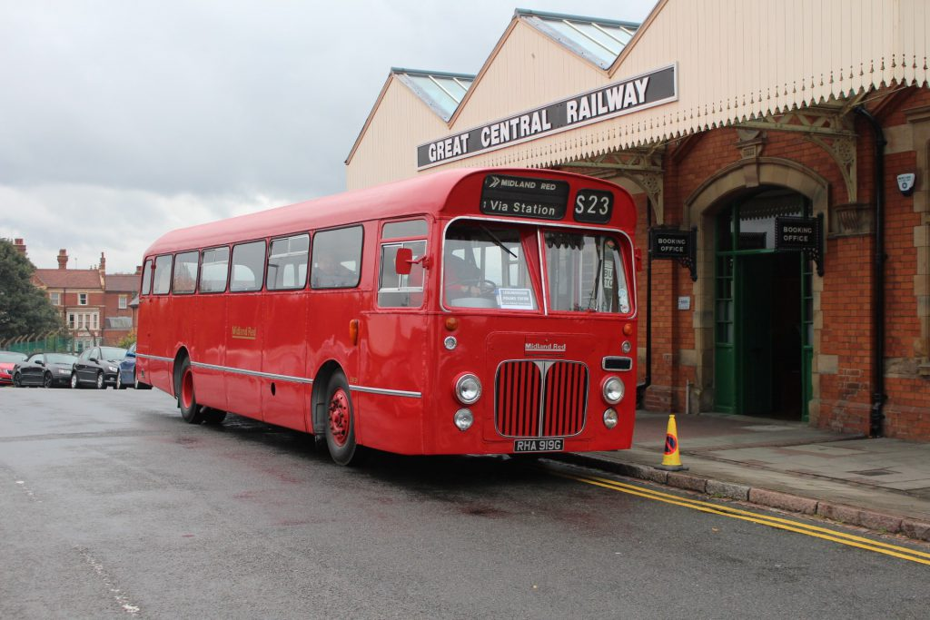 This image has an empty alt attribute; its file name is Bus-outside-GCR-1024x683.jpg