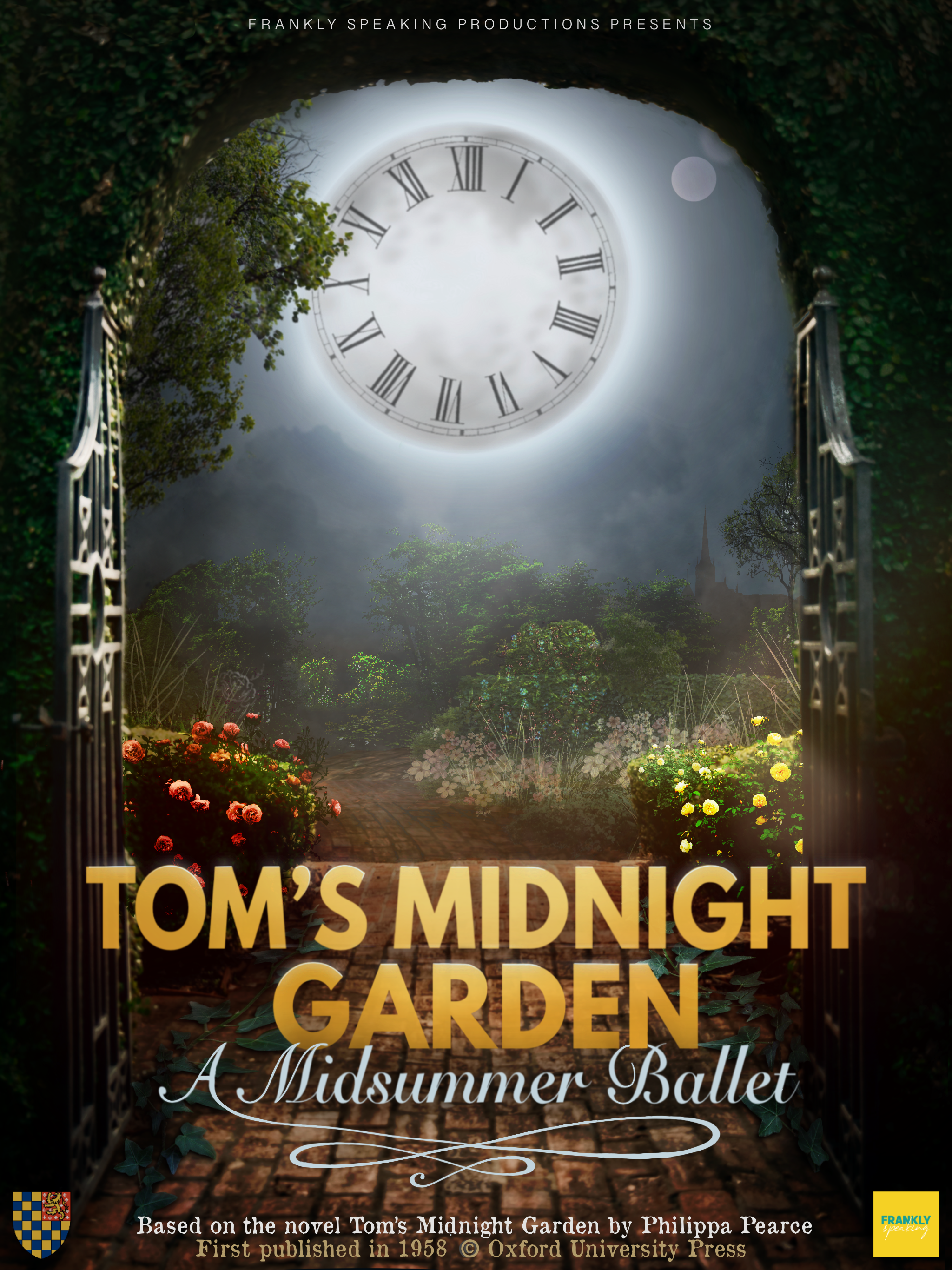 Read more about the article Tom's Midnight Garden – A Midsummer Ballet – Sunday 6pm